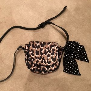 Juicy Couture Leopard Print Purse Small with Bow